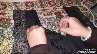 Download موديل شيفون اسود ابو السبعه المقرنصه Video