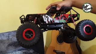 Download Unboxing and Review RC Rock Crawler HB P1001 2.4Ghz Video