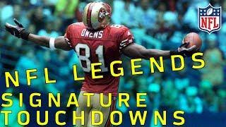 Download NFL Legends Signature TDs Part 1 | NFL Highlights Video