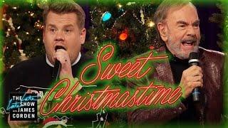 Download ″Sweet Christmastime″ w/ Neil Diamond & James Corden Video