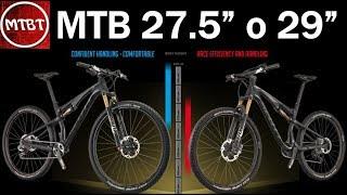 Download MTB dimensione diametro ruote 27,5'' o 29'' differenza e confronto   scegliere la ruota giusta MTBT Video