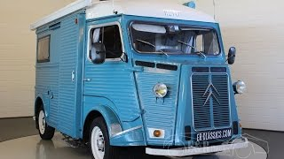 Download Citroën HY78 Camper 1973, blue, in good condition -VIDEO- ERclassics Video