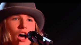Download The Voice 2015 Blind Audition Sawyer Fredericks I Am a Man of Constant Sorrow Video