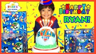Download Ryan's 5th Birthday Party Surprise Toys Opening Presents Paw Patrol Egg Surprise Smash Birthday Cake Video