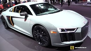 Download 2017 Audi R8 V10 Plus Exclusive - Exterior and Interior Walkaround - 2016 LA Auto Show Video