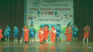Download Japanese fan dance performed by Smart Method Kids students 026.mpg Video