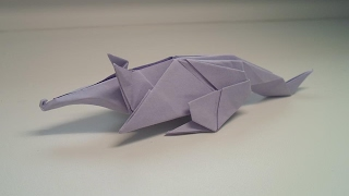 Download Origami anteater (Ladislav Kaňka) Video