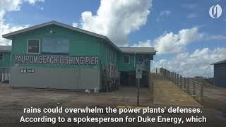 Download Florence's path headed for six nuclear power plants Video