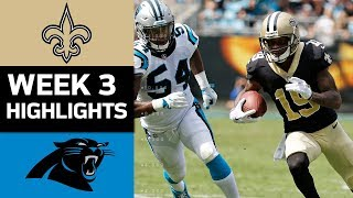 Download Saints vs. Panthers | NFL Week 3 Game Highlights Video