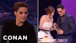 Download Kristen Stewart's French Oscar Freakout - CONAN on TBS Video
