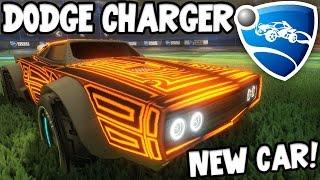 Download NEW DODGE CHARGER DLC!! - ROCKET LEAGUE! W/Speedy Video