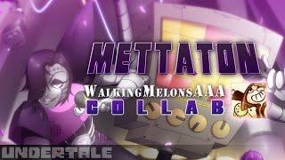Download METTATON - Undertale Speedpaint: WalkingMelonsAAA COLLAB!! Video