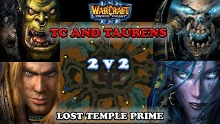 Download Grubby   Warcraft 3 The Frozen Throne   2v2 ORC & HU v UD & NE - Lost Temple Prime Video