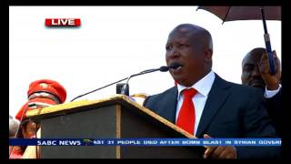 Download Malema's address after his case postponment Video