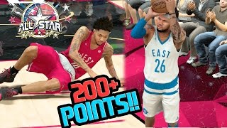 Download SCORING OVER 200 POINTS IN THE ALL STAR GAME!! NBA 2k17 MyCAREER Ep. 68 Video