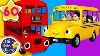 Download Bus Song   Different Types of Buses + More Nursery Rhymes & Kids Songs   Little Baby Bum Video