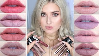 Download NYX Lip Lingerie Swatches! ♡ Review, First Impression & Lip Swatches Video