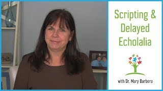 Download Why Do Kids with Autism Script & How to Reduce Scripting and Delayed Echolalia Video