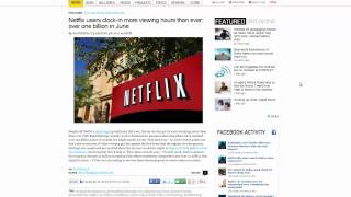 Download Netflix Users Clock-In More Viewing Hours than Ever Video