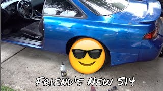 Download ″Taking″ Wheels Off a S14 to Drift On! Video