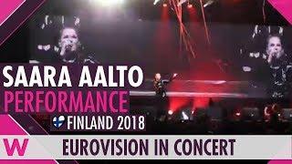Download Saara Aalto ″Monsters″ (Finland 2018) LIVE @ Eurovision in Concert 2018 Video