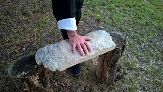 Download RARE, REAL 1 INCH PUNCH. IRON PALM. IRON FIST. Grandmaster Wolf Video
