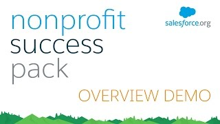 Download Nonprofit Success Pack (NPSP) for Salesforce - Demo Video