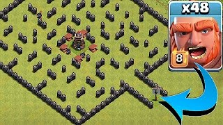 Download ″THE MINI MAZE BASE″🔸GIANT TROLL EVENT!!🔸Clash Of Clans Video