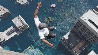 Download GTA 5 Epic Water Ragdolls Flooded Los Santos Ep.4 Video