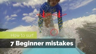 Download HOW TO SURF: 7 BEGINNER MISTAKES AND HOW TO FIX THEM Video