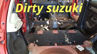 Download Cleaning a really dirty car - suzuki swift Video