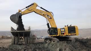 Download Cat 6015B Excavator Loading Trucks - Sotiriadis Brothers Video
