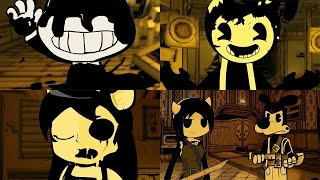Download Stickman in Bendy and the Ink Machine Chapter 1-4 Animations Video