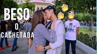 Download BESO O CACHETADA ❤️ KISSING PRANKS Video
