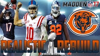Download Madden 17 Connected Franchise | Realistic Rebuild: Chicago Bears | Chad Kelly = Gunslinger Video