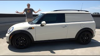 Download Here's Why the Mini Clubvan Is One of the Rarest, Weirdest Modern Cars Video
