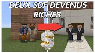 Download DEUX SDF DEVENUS RICHES : MINECRAFT COURT MÉTRAGE ! Video