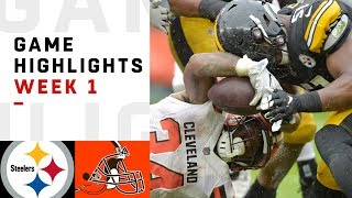 Download Steelers vs. Browns Week 1 Highlights | NFL 2018 Video