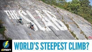 Download The World's Steepest Climb? | Extreme E-Bike Climbing Challenge: The Slab Video