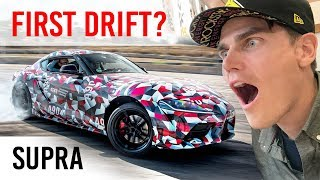 Download FIRST DRIFT IN NEW 2020 SUPRA MKV! (And jumping and drifting the MKIV) Video