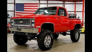 Download 1985 Chevy K 10 Red Video