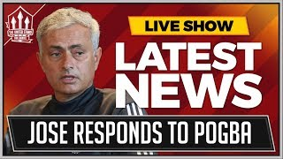 Download Jose Mourinho Press Conference Reaction | Pogba, Martial and Man Utd vs Brighton Video