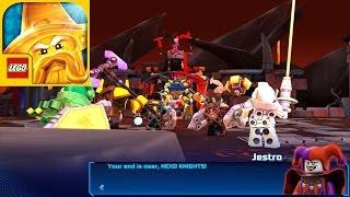 Download Lego Nexo Knights Merlok 2.0 all bosses lava lands | Nexo Powers - Gameplay Walkthrough iOS/Android Video