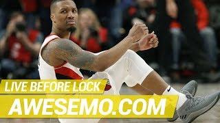 Download NBA DFS Live Before Lock - Thu 5/16 - DraftKings FanDuel Yahoo - Awesemo Video