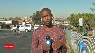 Download Police on standby at Diepkloof protest Video