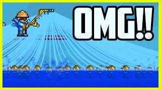 Download Terraria FISHING GLITCH - SUPER FAST FISHING! Infinite Fishing Rod Lines, Terraria Glitches 1.3 Video