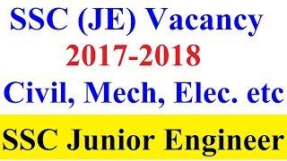 Download SSC JE (Junior Engineer) Vacancy 2017 18 | JE Mechanical, JE Civil, JE Electrical Video