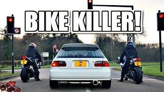 Download 🐒 BIKE KILLER! MENTAL K20 TURBO EG HONDA CIVIC REVIEW! Video