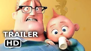 Download INCREDIBLES 2 Official Trailer (2018) Animation, Superhero Team Movie HD Video