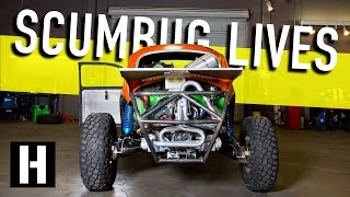 Download Scumbug Gets Fired Up! Fresh Racing Engine for our Craigslist Baja Bug Video